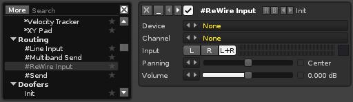 ReWire - Renoise User Manual