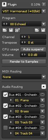 Plugin - Renoise User Manual